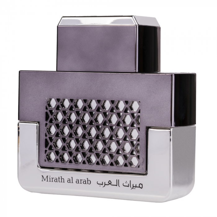 Parfum arabesc Mirath Al Arab Silver, apa de parfum 100 ml, barbati [3]