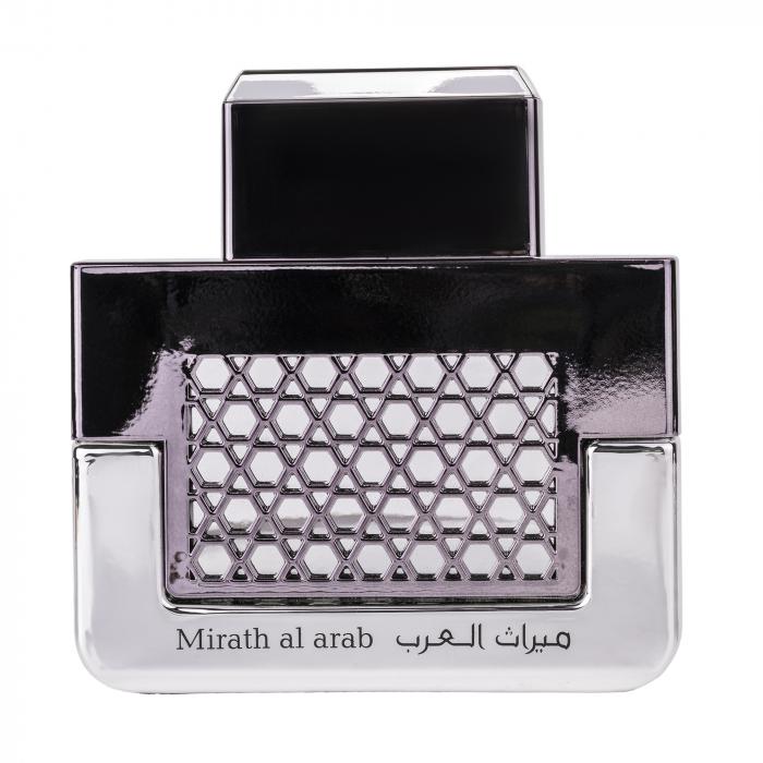 Parfum arabesc Mirath Al Arab Silver, apa de parfum 100 ml, barbati [1]