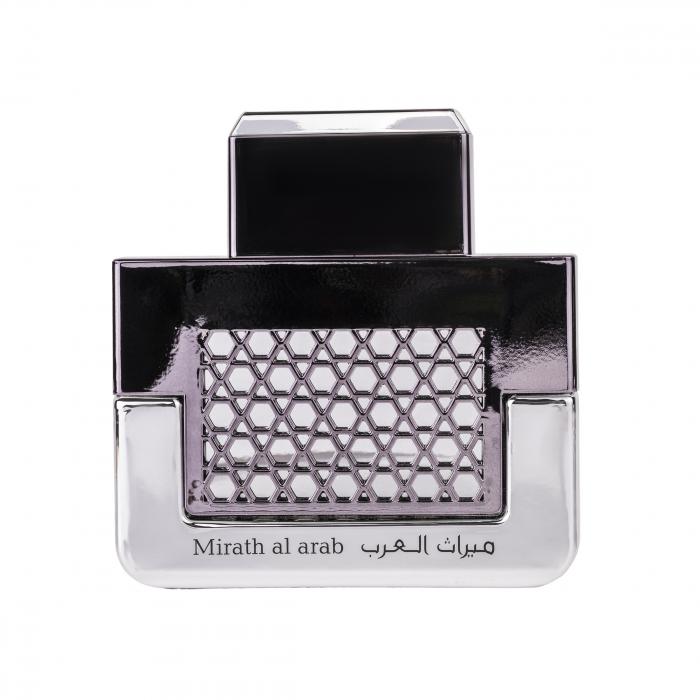 Parfum arabesc Mirath Al Arab Silver, apa de parfum 100 ml, barbati [0]