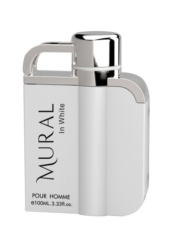 Parfum arabesc Mural In White, apa de parfum 100 ml, barbati [0]