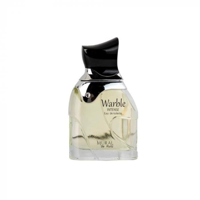 Parfum arabesc Mural Warble Intense, apa de parfum 90 ml, barbati [0]