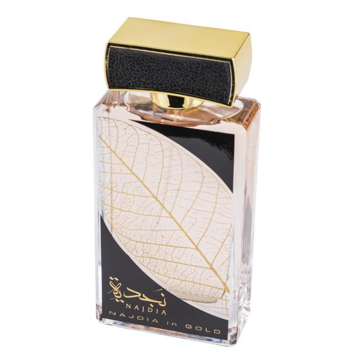 Parfum arabesc Najdia In Gold, apa de parfum 100 ml, unisex [1]