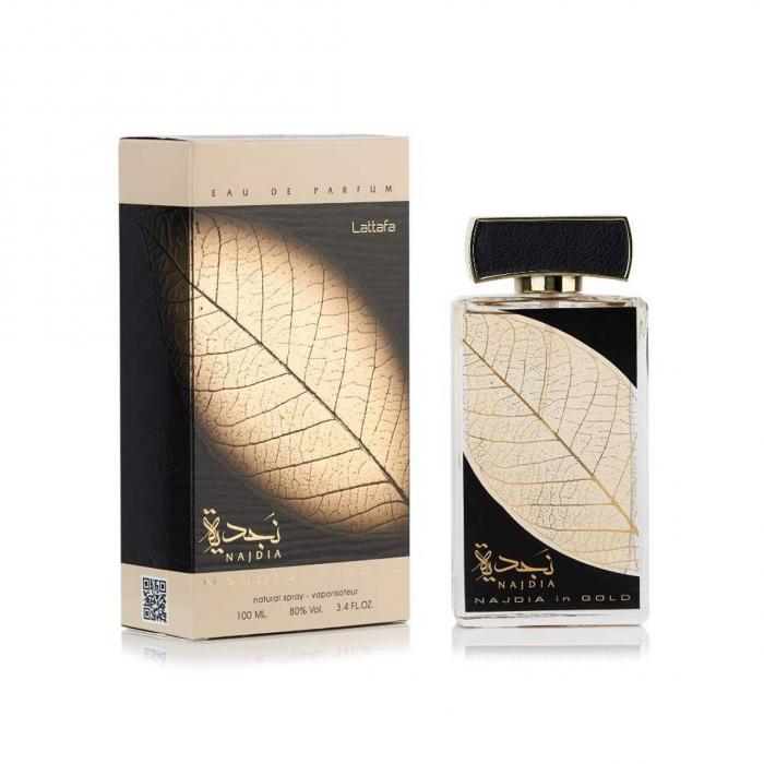 Parfum arabesc Najdia In Gold, apa de parfum 100 ml, unisex [2]