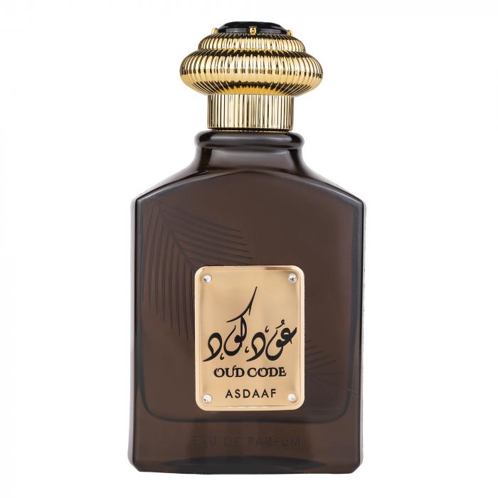 Parfum arabesc Oud Code, apa de parfum 100 ml, unisex [0]