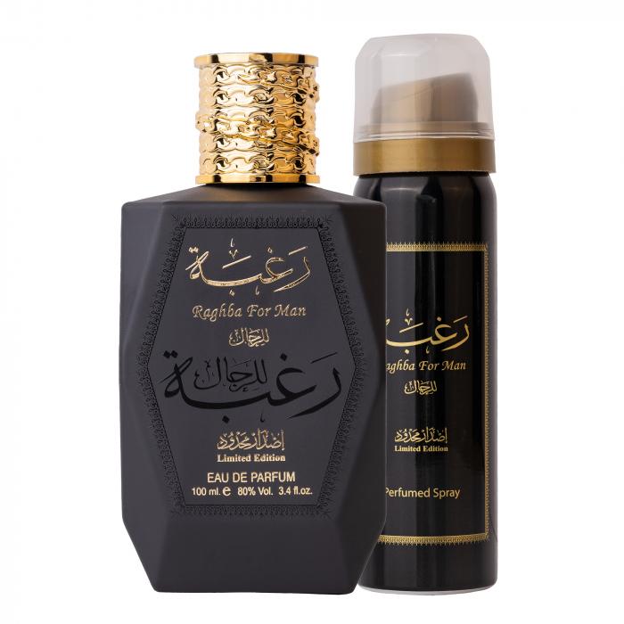 Parfum arabesc Raghba for Man, apa de parfum 100 ml, barbati [0]