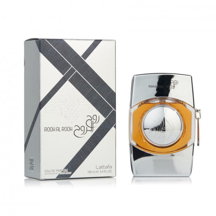 Parfum arabesc Rooh Al Rooh Silver, apa de parfum 100 ml, barbati [1]