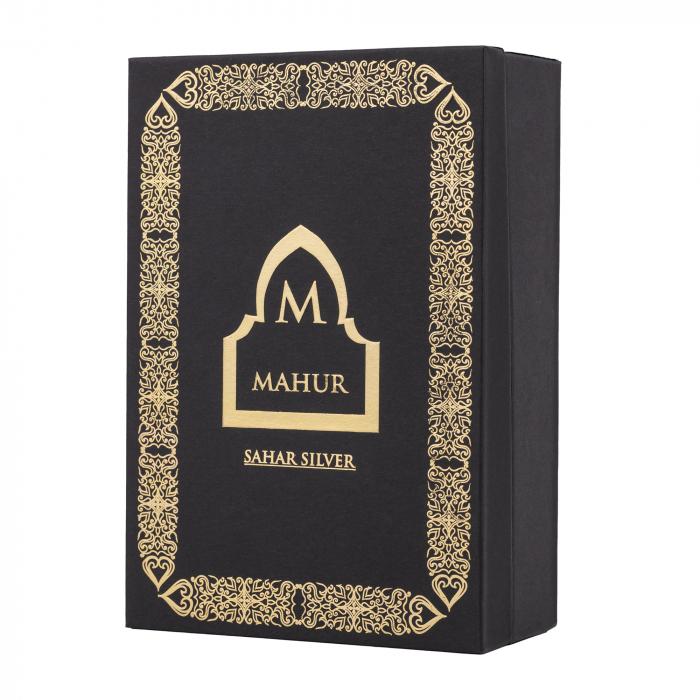 Parfum arabesc Sahar Silver, apa de parfum 100 ml, barbati [3]