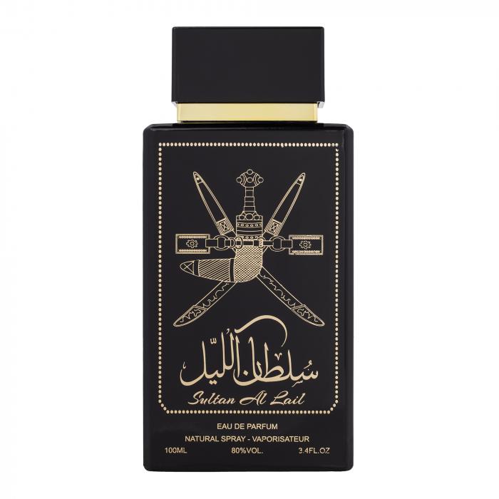 Parfum arabesc Sultan Al Lail, apa de parfum 100 ml, bărbați [0]