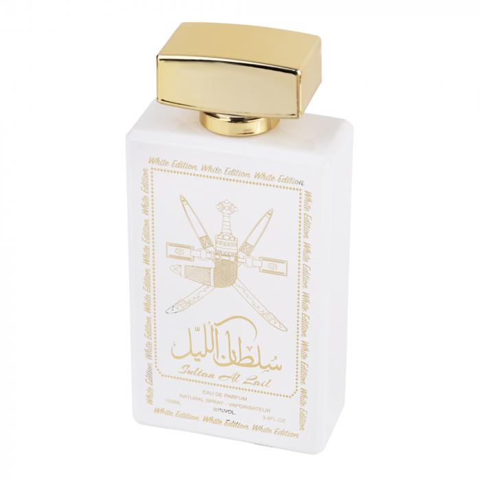 Parfum arabesc Sultan Al Lail White, apa de parfum 100 ml, femei [1]