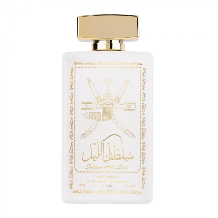 Parfum arabesc Sultan Al Lail White, apa de parfum 100 ml, femei [0]