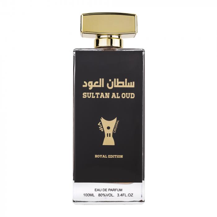 Parfum arabesc Sultan Al Oud Vip, apa de parfum 100 ml, bărbați [0]