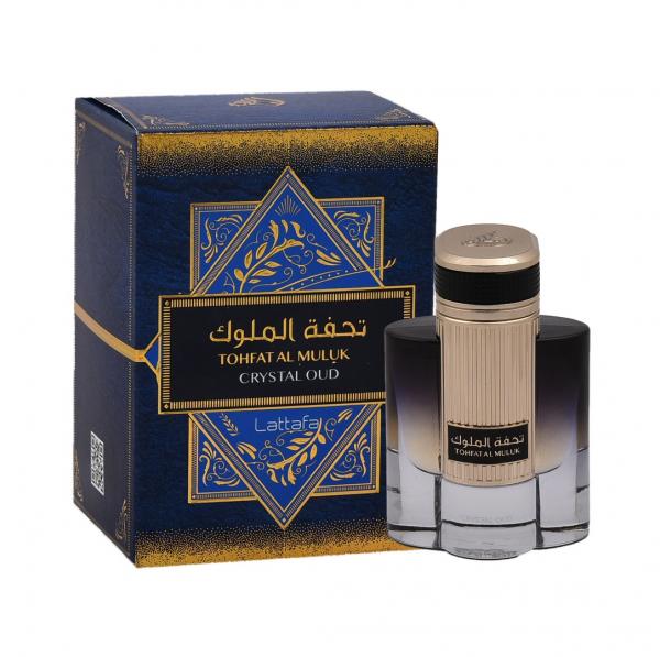 Parfum arabesc Tohfat Al Muluk Crystal Oud, apă de parfum 80 ml, bărbați [1]