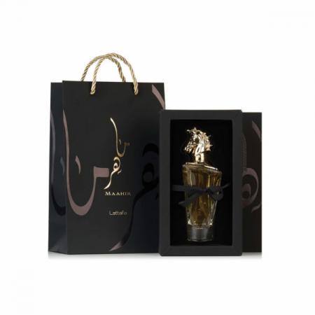 Lattafa Maahir, apa de parfum 100 ml, unisex4