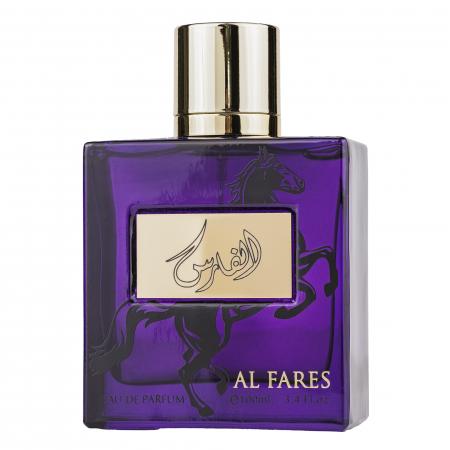 Parfum arabesc Al Fares, apa de parfum 100 ml, barbati [2]