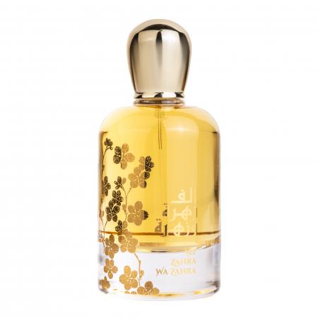 Parfum arabesc Alf Zahra Wa Zahra, apa de parfum 100 ml, femei [0]