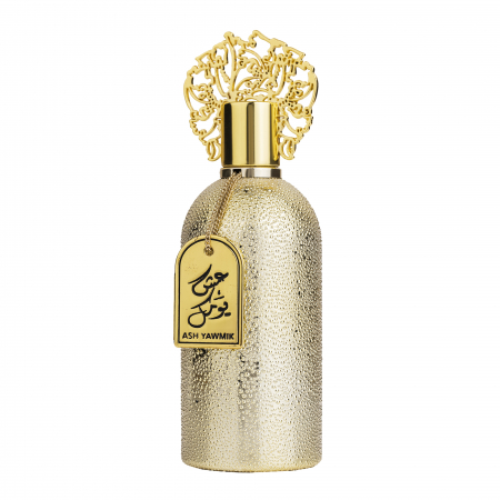 Parfum arabesc Ash Yawmik Gold, apa de parfum 100 ml, femei [0]