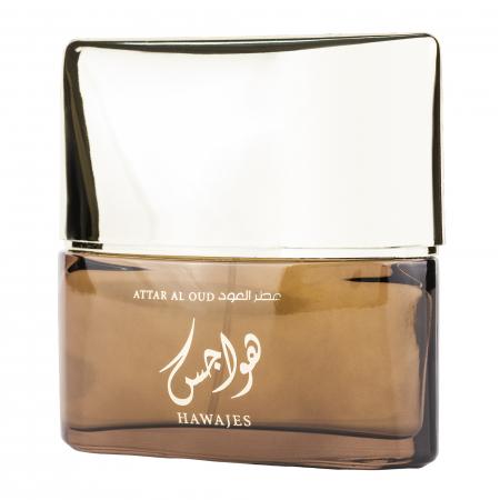 Parfum arabesc Attar Al Oud Hawajes, apa de parfum 100 ml, barbati [2]