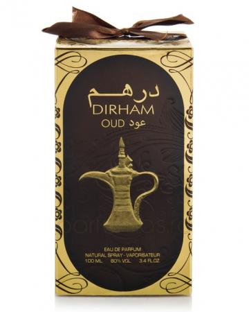 Parfum arabesc Dirham Oud, apa de parfum 100 ml, unisex2