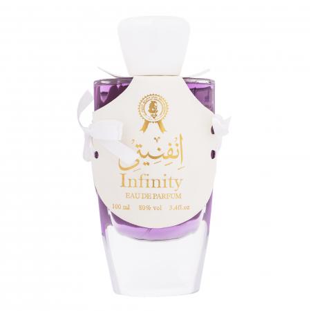 Parfum arabesc Infinity, apa de parfum 100 ml, unisex [0]