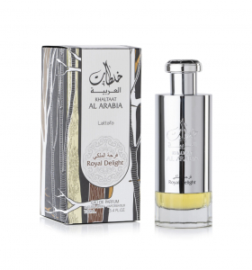Parfum arabesc Khaltaat Al Arabia Silver, apa de parfum 100 ml, barbati [1]