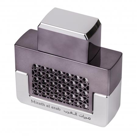 Parfum arabesc Mirath Al Arab Silver, apa de parfum 100 ml, barbati [2]
