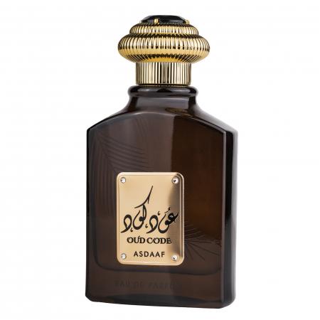 Parfum arabesc Oud Code, apa de parfum 100 ml, unisex [2]