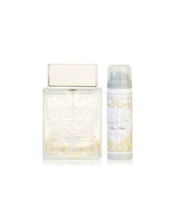 Set Pure Musk apa de parfum 100 ml si deodorant 50ml, unisex2