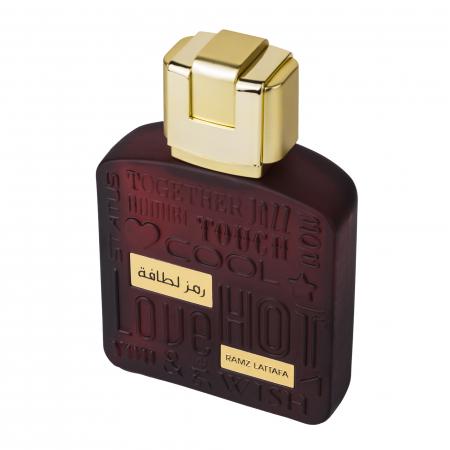 Parfum arabesc Ramz Lattafa Gold, apa de parfum 100 ml, barbati [2]