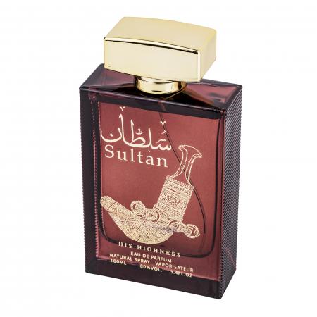 Parfum arabesc Sultan His Highness, apa de parfum 100 ml, barbati [1]