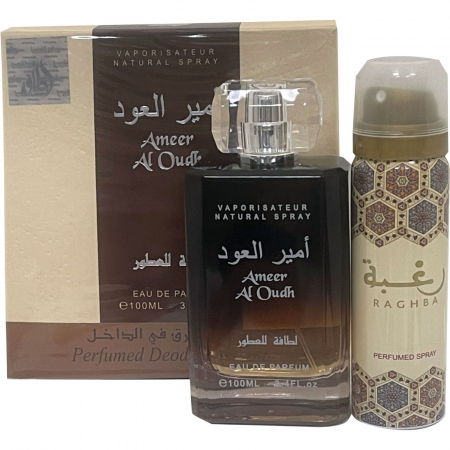 Set Ameer Al Oudh, apa de parfum 100 ml si deodorant 50ml, unisex [0]