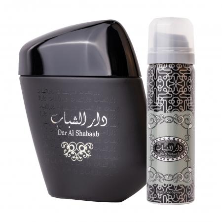 Set Dar Al Shabaab, apa de parfum 100 ml si deodorant 50ml, barbati [0]