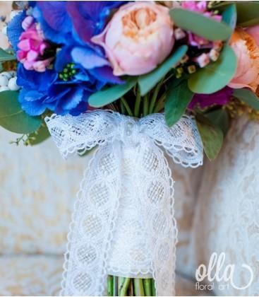 Armonie Naturala, buchet de mireasa din mix de flori 1