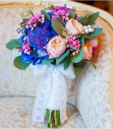 Armonie Naturala, buchet de mireasa din mix de flori 0