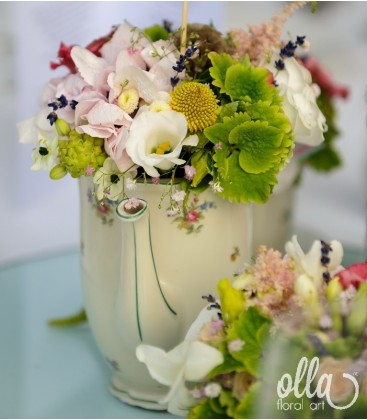 Ceremonie Parfumata, aranjament de masa pentru nunta 2