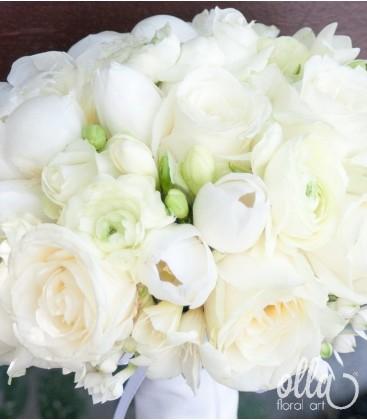 Craiasa din Vis, buchet de mireasa din trandafiri avalanche 1