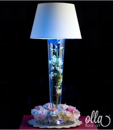 Ideea Luminata, aranjament floral corporate 0