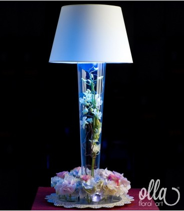 Luminisul Tandru, aranjament de masa pentru nunta 0