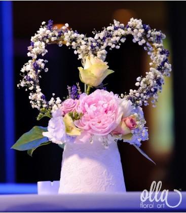 Mesagerul Iubirii, aranjament masa botez 0