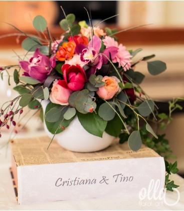 Parfum de Intimitate, aranjament floral corporate 0
