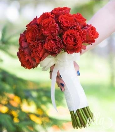 Pasiune Nemuritoare, buchet de mireasa din Trandafiri 1