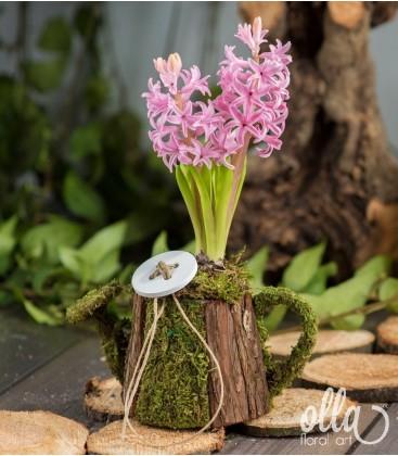 PR16 Aranjament floral pe suport de stropitoare 0