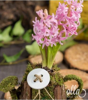 PR16 Aranjament floral pe suport de stropitoare 1