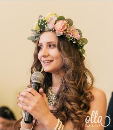 Regina Iubirii, coronita de flori 0