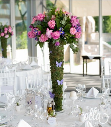 Simturi Infloritoare, aranjament floral corporate 1
