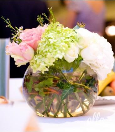 Suflet Multicolor, aranjament de masa pentru nunta 0