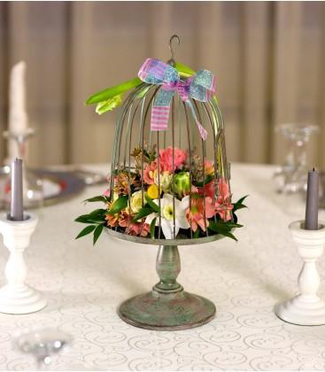 Aripi Colorate, aranjament floral corporate0