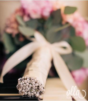 Balada Pretioasa, buchet de mireasa din trandafiri0