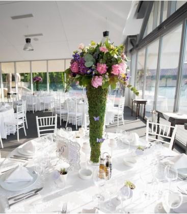 Marea Dragoste, aranjament de masa pentru nunta2