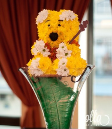 Winnie the Pooh, aranjament masa botez1