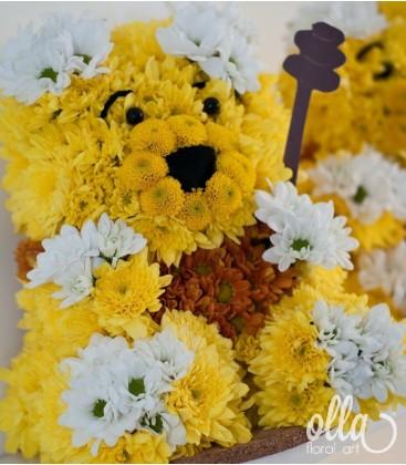Winnie the Pooh, aranjament masa botez0